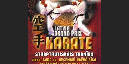 Latvian Grand Prix Karate 2010