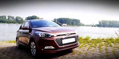 Jaunā 'Hyundai i20' prezentācija Parīzes autoizstādē