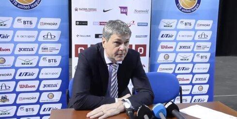 Bagatskis pēc zaudējuma kritizē 'Ņižņij Novgorod' spēlētājus