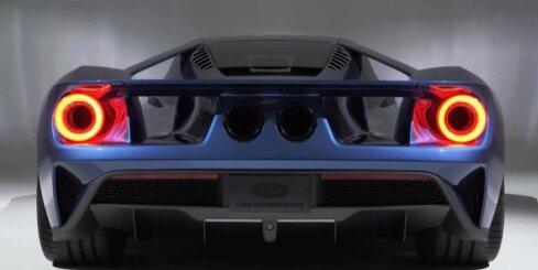 'Ford' prezentējis jaunā 'GT' superauto prototipu