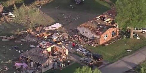 Bez komentāriem: Tornado posta ASV