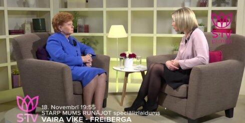 Vaira Vīķe Freiberga par Latviju, ģimenes vērtībām un sievietes spēku