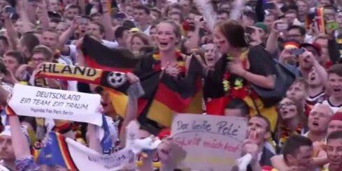 Vācijas futbola fani