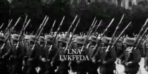 Arhīva video: Rīgas ieņemšana, 1917. gads