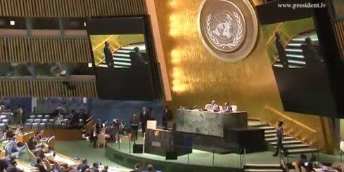 Prezidents: Krievijas darbība apdraud mieru un drošību pasaulē