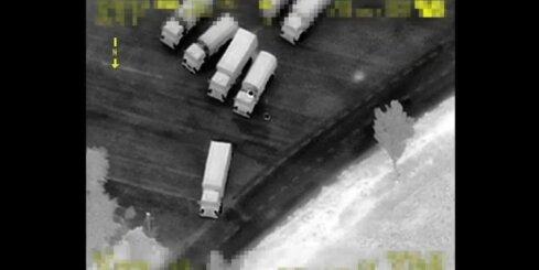Krievijas kolonna nelegāli iebrauc Ukrainā
