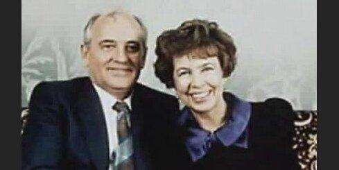 Gorbačovs dzied sievas piemiņai