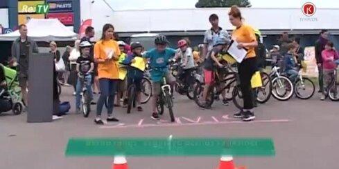 'Bērnu rallijs' sagatavo bērnus satiksmei uz ceļa