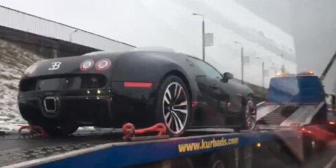 'Pagani Zonda' vietā Latvijas uzņēmums nopircis 1,8 miljonu eiro 'Bugatti Veyron'