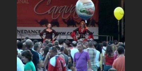 Eksotisko deju festivāls Jūrmalā