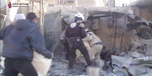 Sīrijas režīma un Krievijas ofensīvā Alepo provincē vairāk nekā 500 bojāgājušo