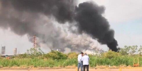 Sprādziens fabrikā Meksikā