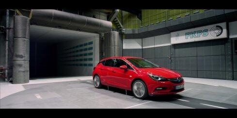 Jaunā 'Opel Astra' modeļa tehnoloģijas