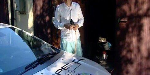 'Zebra' testē 'Opel Ampera' elektroauto
