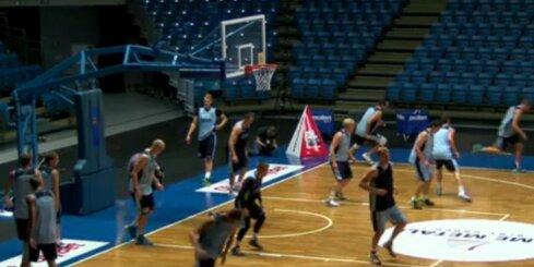 Igaunijas basketbola izlase gatavojas EČ