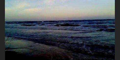 Jūra pēc vētras Kauguros