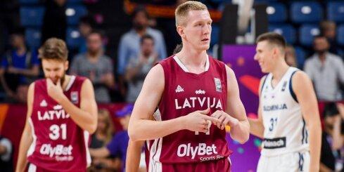 Video: Šmita 'danks' uz atvadām no 'Eurobasket' iekļūst 1/4 fināla labāko momentu topā