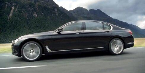 Jaunais BMW 7. sērijas limuzīns
