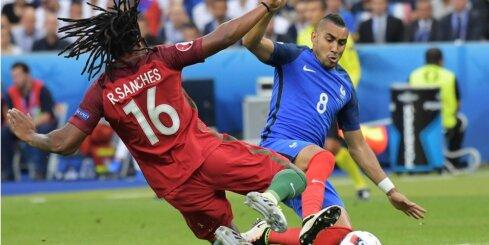 Portugāles talants Sančess atzīts par EURO 2016 labāko jauno spēlētāju