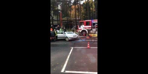 Autoavārija Rumbulā