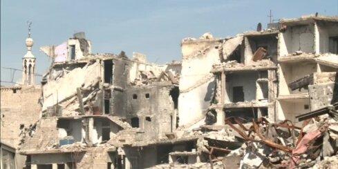 Novērotāji: Sīrijā turpinājušies intensīvi Krievijas uzlidojumi
