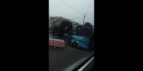 Autoavārija Maskavas ielā
