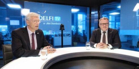 'Delfi TV ar Jāni Domburu' viesojas 'Jaunā Vienotība'