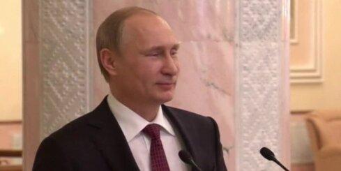 Putins pēc 17 stundu ilgām sarunām paziņo par pamieru Ukrainas austrumos