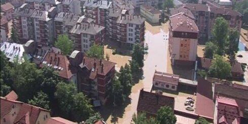 Tik spēcīgi plūdi Balkānos nav bijuši vismaz 120 gadus
