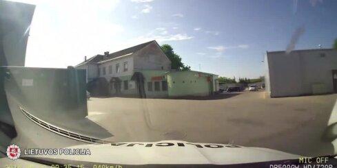 Aizraujoša policijas pakaļdzīšanās Lietuvā
