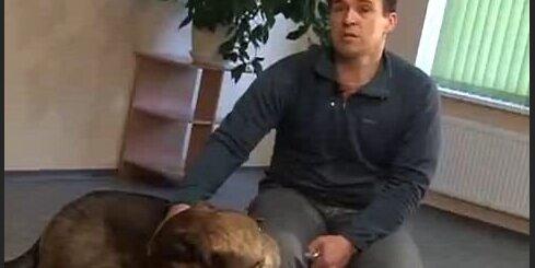 Irbe pieķēries suņiem par spīti uzbrukumam