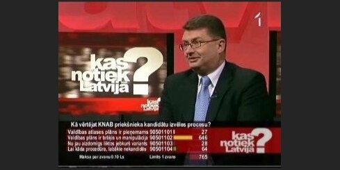 Kā Saeimā vērtēs KNAB priekšnieka amata kandidātu?
