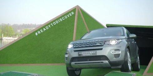 Parīzē atklāj 'Land Rover Discovery Sport'