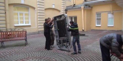 Sanktpēterburgā nojauc pieminekli Stīvam Džobsam