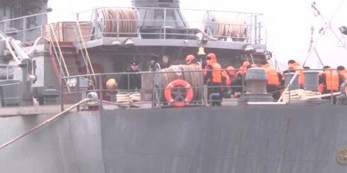 Krievu jūrnieki pamet 'Mistral' kuģi