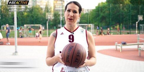 Jansonu ģimenes izaicinājums Eiropas sporta nedēļā