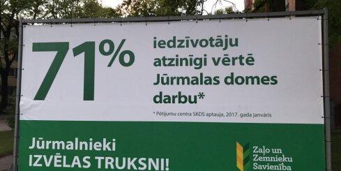 Zamurs vēršas KNAB par iespējamu ZZS likumpārkāpumu Jūrmalā