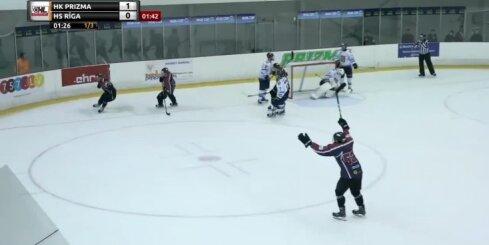 TOP 5! Optibet Hokeja līgas 3. kārtas labākie vārtu guvumi