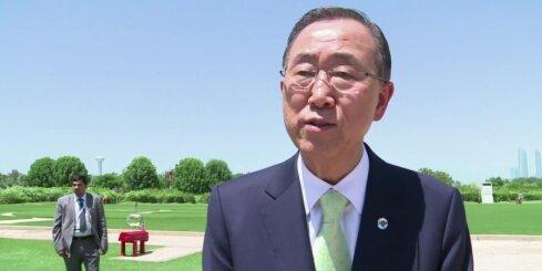 ANO ģenerālsekretārs piedāvājies kļūt par vidutāju Ukrainas krīzē