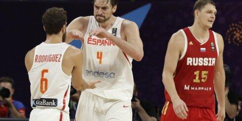 Сборная России проиграла испанцам в борьбе за бронзу Евробаскета