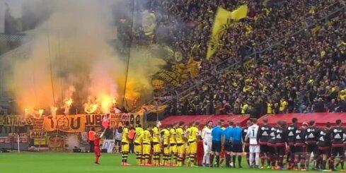 Скандал в бундеслиге: судья удалил тренера