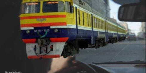 Kā tapa pa Barona ielu braucošā vilciena datoranimācija