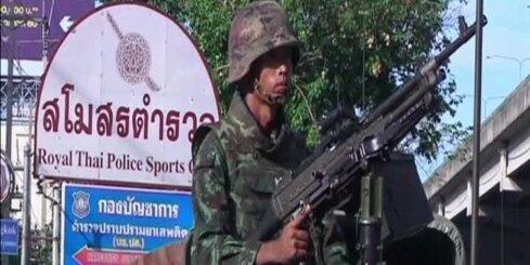 Armija Taizemē izsludina karastāvokli
