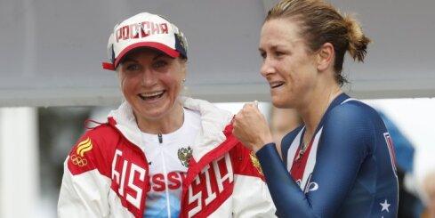 Армстронг выиграла третью Олимпиаду подряд, у Забелинской — серебро