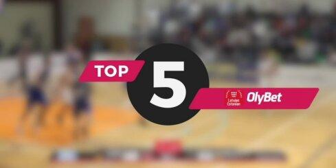 'OlyBet' basketbola līga: nedēļas TOP 5 (16.01.2019.)