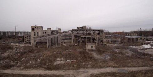 Pamesta rūpnīca Jelgavā