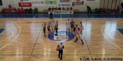 'Aldaris Latvijas Basketbola Līga' - 'Liepāja/Triobet' - 'BK Jēkabpils' - 5. aprīļa spēle