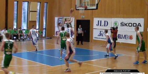 'Aldaris Latvijas Basketbola Līga' - 'Jūrmala/Fēnikss' - 'BK Valmiera' - 17. aprīļa spēle