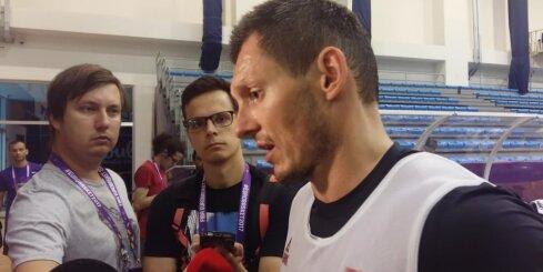 Video: Latvijas izlases kapteinis Blūms stāsta par gatavību 'Eurobasket 2017' pirmajai spēlei