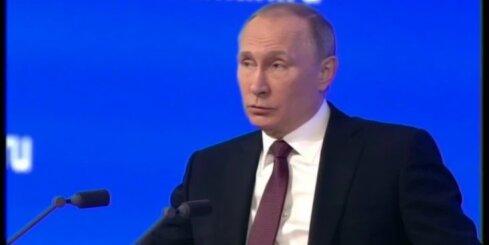 Krievija ir stiprāka par jebkuru agresoru, brīdina Putins